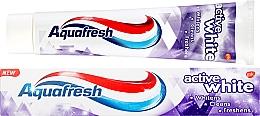 "Fragrances, Perfumes, Cosmetics Toothpaste ""Active Whitening"" - Aquafresh Active White Toothpaste"