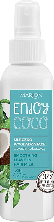 Hair Milk with Coconut Oil - Marion Enjoy Coco Smoothing Leave In Hair Milk