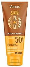 Fragrances, Perfumes, Cosmetics Sun Lotion for Body SPF 50 - Venus Golden Sun Lotion SPF 50
