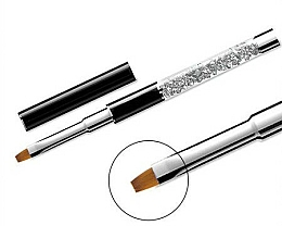 Fragrances, Perfumes, Cosmetics Flat Nail Brush #10 - Elisium