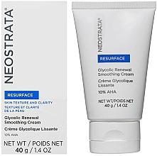 Fragrances, Perfumes, Cosmetics Renewal Face Cream - Neostrata Resurface Glycolic Renewal Smoothing Cream Ultra