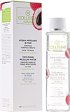Fragrances, Perfumes, Cosmetics Micellar Water - Collistar Acqua Micellare Bi Fase
