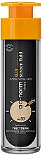 Fragrances, Perfumes, Cosmetics Face Fluid - Frezyderm Ac-Norm Active Sun Screen Tinted Fluid Spf50+