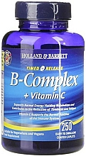 """Fragrances, Perfumes, Cosmetics Food Supplement """"Timed Release B Complex + Vitamin C"""" - Holland & Barrett Timed Release B Complex + Vitamin C"""