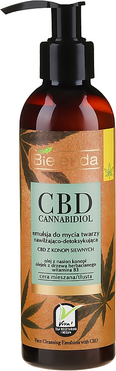 Face Elixir - Bielenda CBD Cannabidiol Emulse