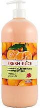 "Fragrances, Perfumes, Cosmetics Shower Cream-Gel ""Mandaring & Ginger"" - Fresh Juice Hawaiian Paradise Tangerine & Awapuhi"