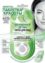"Fragrances, Perfumes, Cosmetics Face Scrub ""Beauty Pill. Instant Detox"" - Fito Cosmetic Beauty Pill"