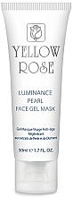 Fragrances, Perfumes, Cosmetics Pearl Gel Face Mask, diamond powder (tube) - Yellow Rose Luminance Pearl Face Gel Mask