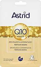 Fragrances, Perfumes, Cosmetics Moisturizing Face Mask - Astrid Q10 Miracle Firming And Hydrating Sheet Mask