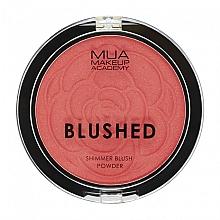 Fragrances, Perfumes, Cosmetics Blush - MUA Blushed Shimmer Blush Powder (5.3 g)