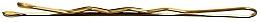Fragrances, Perfumes, Cosmetics Bobby Pins, 6 cm, golden - Lussoni Waved Hair Grips 6 cm Golden