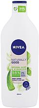 Fragrances, Perfumes, Cosmetics Body Lotion - Nivea Naturally Good Body Lotion