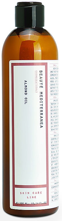 Almond Oil - Beaute Mediterranea Almond Oil