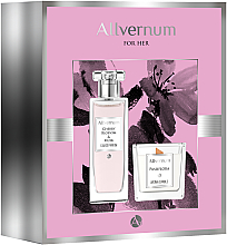 Fragrances, Perfumes, Cosmetics Allvernum Cherry Blossom & Musk - Set (edp/50ml + candle/100g)