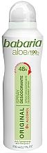 Fragrances, Perfumes, Cosmetics Deodorant - Babaria Aloe Vera Original Alcohol-Free Deodorant Spray