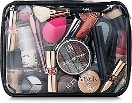 "Fragrances, Perfumes, Cosmetics Clear Makeup Bag ""Visible Bag"" 25x18x8 cm - MakeUp"