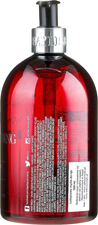 Hand Liquid Soap - Baylis & Harding Black Pepper & Ginseng Hand Wash — photo N2