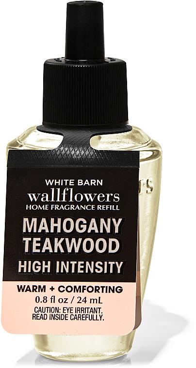 Bath and Body Works Mahogany Teakwood High Intensity Wallflowers Fragrance Warm+Comforting - Aroma Diffuser (refill) — photo N1