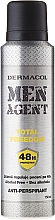 Fragrances, Perfumes, Cosmetics Antiperspirant - Dermacol Men Agent Total Freedom 48H Protection Anti-Perspirant