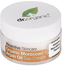 "Fragrances, Perfumes, Cosmetics Day Body Cream ""Moroccan Argan Oil"" - Dr. Organic Bioactive Skincare Organic Moroccan Argan Oil Day Cream"