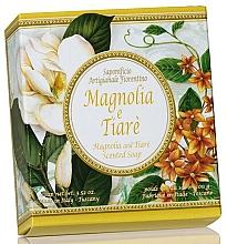 """Fragrances, Perfumes, Cosmetics Natural Soap """"Magnolia & Tiare"""" - Saponificio Artigianale Fiorentino Magnolia & Tiare Soap"""