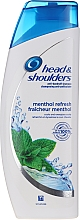 "Fragrances, Perfumes, Cosmetics Anti-Dandruff Shampoo ""Menthol"" - Head & Shoulders Menthol"