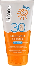 Fragrances, Perfumes, Cosmetics Sun Protection Waterproof Milk - Lirene Kids Sun Protection Waterproof Milk SPF 30