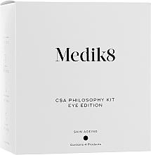 Set - Medik8 The CSA Philosophy Kit Eye Edition (serum/7ml + cr/15ml + serum/7ml + cleanser/30ml) — photo N1