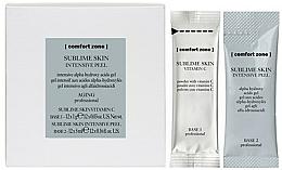 Fragrances, Perfumes, Cosmetics Face Peeling - Comfort Zone Sublime Skin Intensive Peel