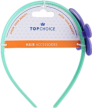 Fragrances, Perfumes, Cosmetics Hairband, 27864, mint with purple flower - Top Choice