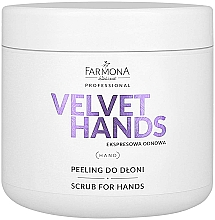 Fragrances, Perfumes, Cosmetics Lily and Lilac Scented Hand Scrub - Farmona Professional Velevet Hands Scrub For Hands
