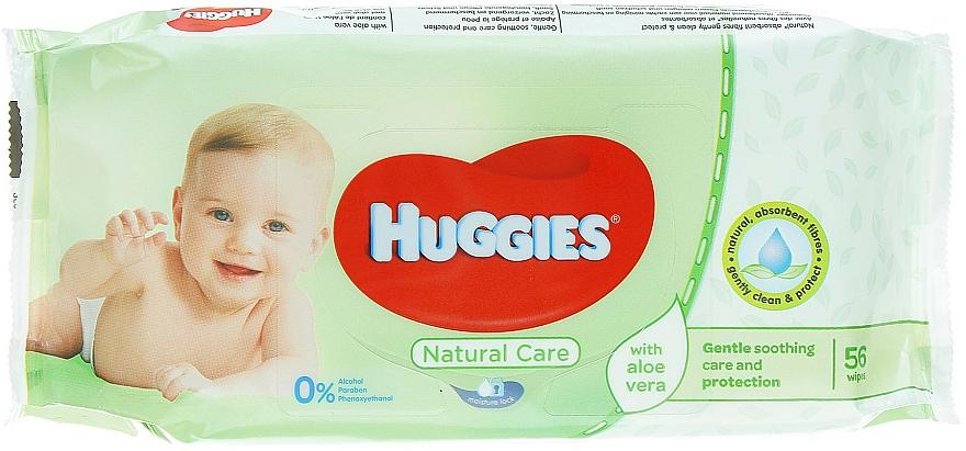 Kids Wet Wipes Natural Care, 56 pcs - Huggies