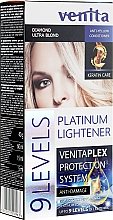 Fragrances, Perfumes, Cosmetics Lightener up to 9 Tones - Venita Plex Platinum Lightener