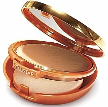 Fragrances, Perfumes, Cosmetics Compact Foundation-Powder with Bronzing Effect - Collistar Tanning Compact Cream SPF 6