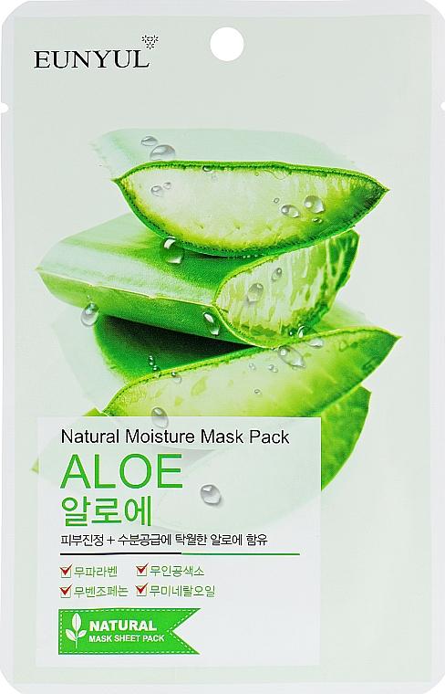 Moisturizing Aloe Vera Sheet Mask - Eunyul Natural Moisture Mask Pack Aloe