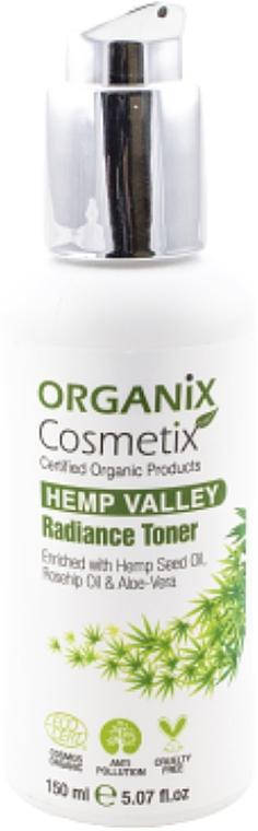 Facial Radiance Toner - Organix Cosmetix Hemp Valley Radiance Toner