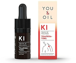 Fragrances, Perfumes, Cosmetics Essential Oil Blend - You & Oil KI-Temperature Touch Of Welness Essential Oil