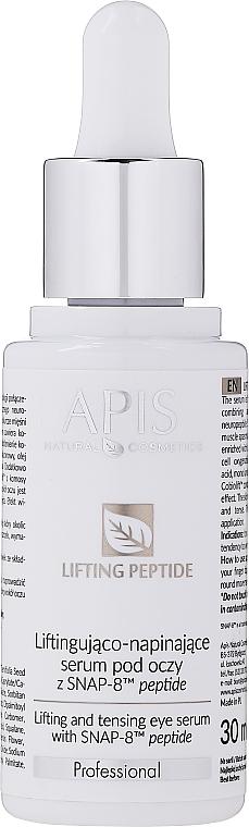 Lifting Eye Serum - APIS Professional Lifting Peptide Lifting And Tensing Eye Serum