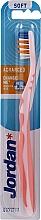 Fragrances, Perfumes, Cosmetics Toothbrush Soft Advanced, no cap, light pink - Jordan Advanced Soft Toothbrush