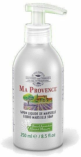"Liquid Marseille Soap ""Almond"" - Ma Provence Liquid Marseille Soap Almond — photo N1"