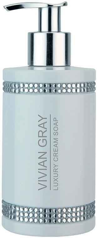 Liquid Soap - Vivian Gray White Crystals Luxury Cream Soap