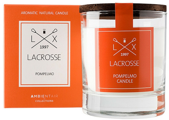 Scented Candle - Ambientair Lacrosse Pompelmo Candle — photo N1