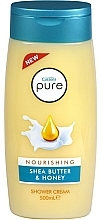 Fragrances, Perfumes, Cosmetics Shower Cream - Cussons Pure Shower Cream Nourishing Shea Butter & Honey