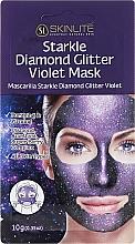 Fragrances, Perfumes, Cosmetics Exfoliating Glitter Mask - Skinlite Starkle Diamond Glitter Violet Mask