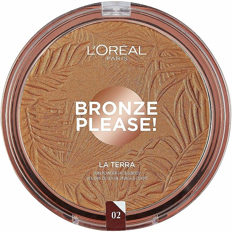 Face & Body Bronzer - L'Oréal Paris La Terra Joli Bronze Bronzer