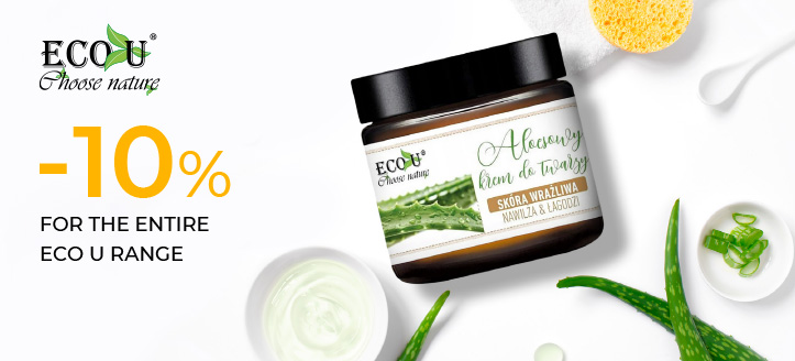 -10% off the entire Eco U range. Prices on the site already include a discount