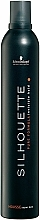Fragrances, Perfumes, Cosmetics Strong Hold Hair Mousse - Schwarzkopf Professional Silhouette Mousse Super Hold