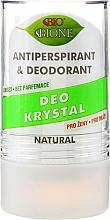 Fragrances, Perfumes, Cosmetics Deodorant - Bione Cosmetics Deo Krystal Antiperspirant&Deodorant
