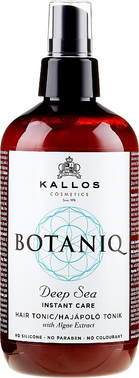 Instant Hair Tonic Spray - Kallos Cosmetics Botaniq Deep Sea Instant Care Hair Tonic