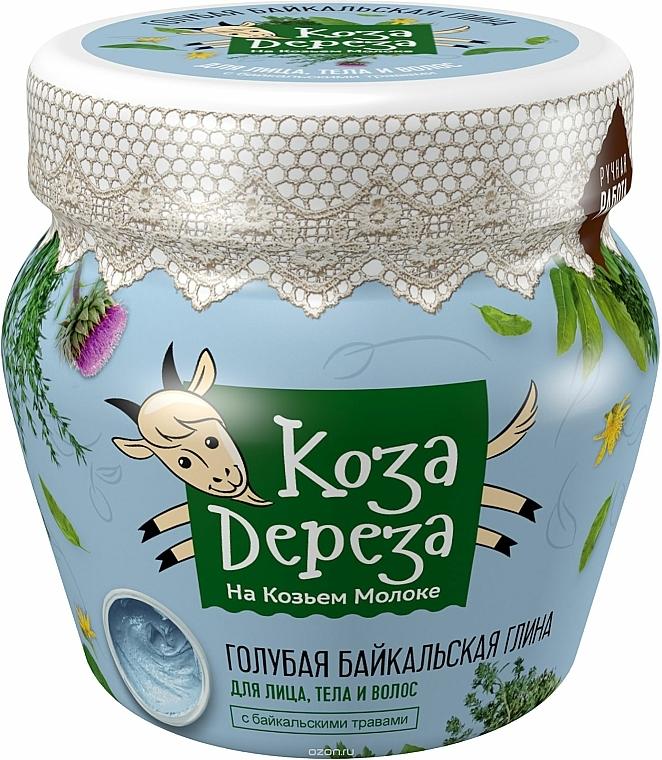 """Face & Body Clay """"Blue Baikal"""" - Fito Cosmetic Koza Dereza"""